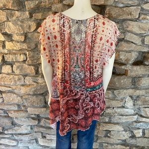 live and let live Tops - Live & Let Live Printed Top Size Medium
